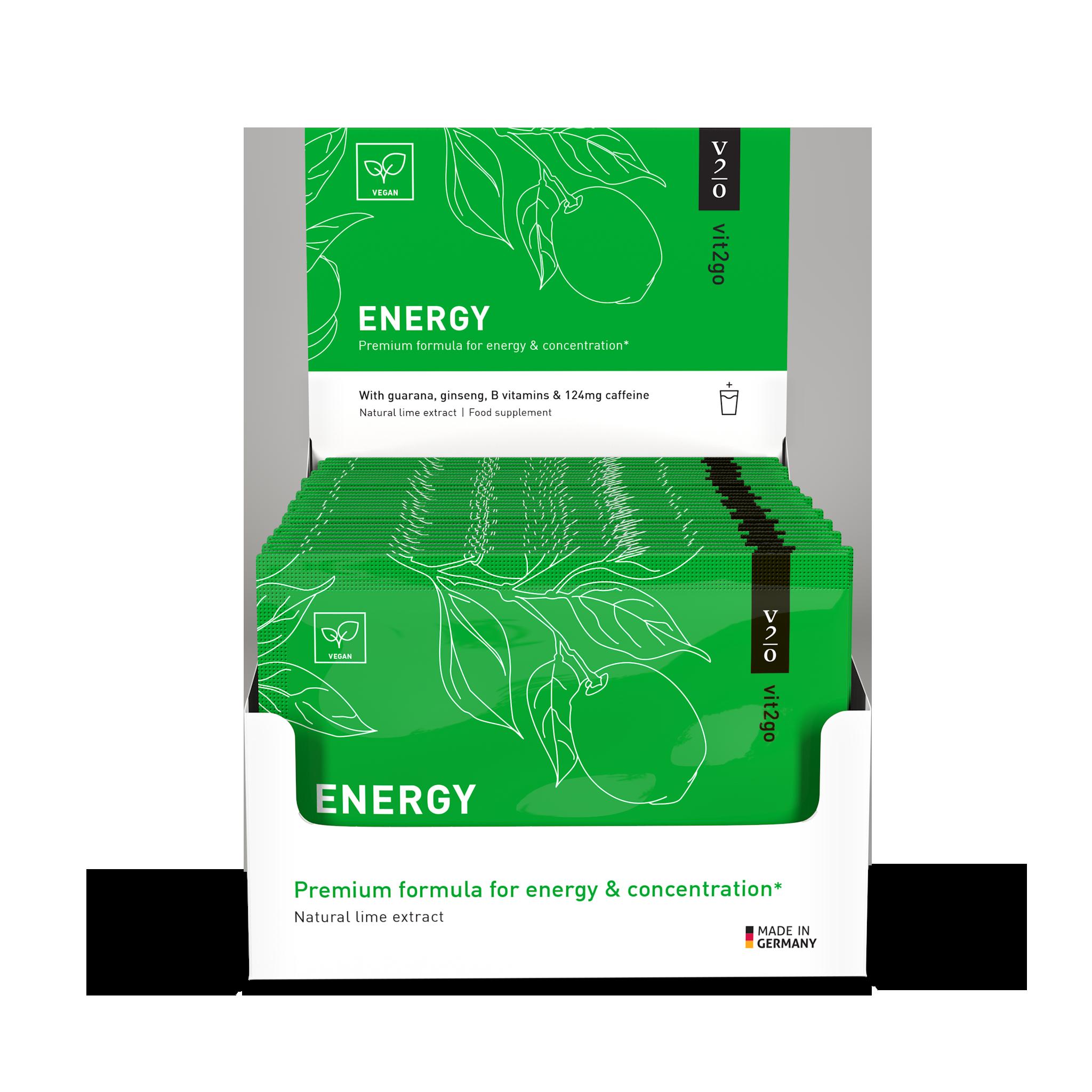 ENERGY – 30 SOBRES