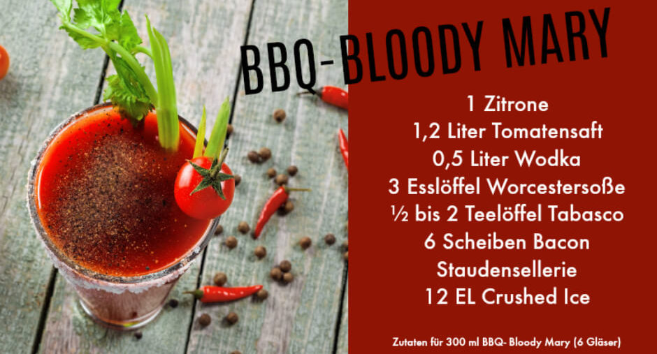 BBQ Bloody Mary Rezept