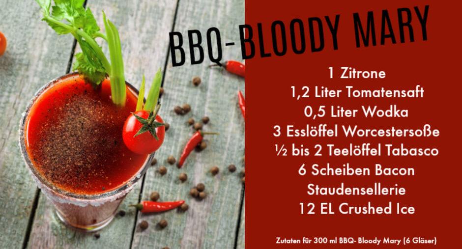 BBQ Bloody Mary Rezept