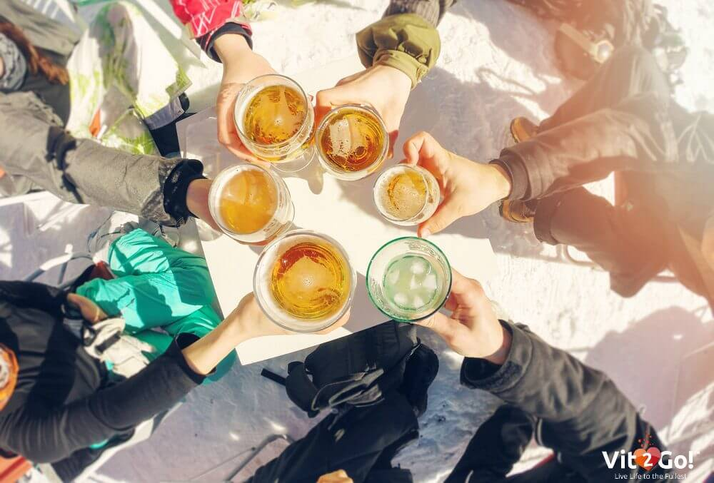 Healthy hangover tips for the Apres Ski party