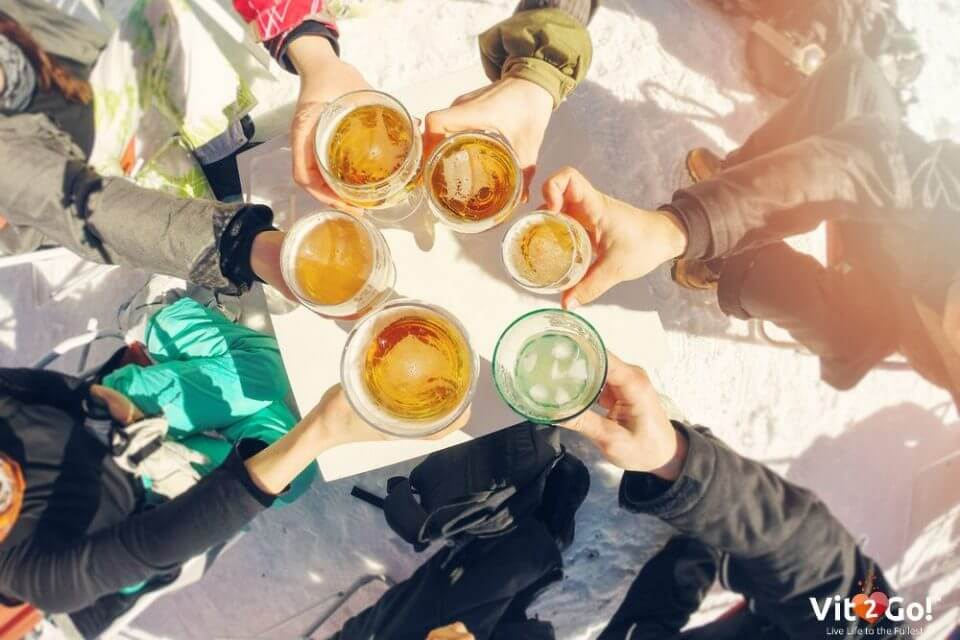 Kater nach der Aprés Ski-Party – So hilft dir Hangover Aid