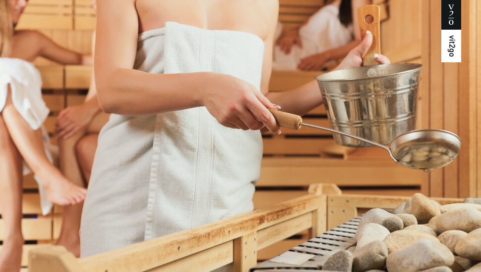 Health benefits of sauna and cold showers