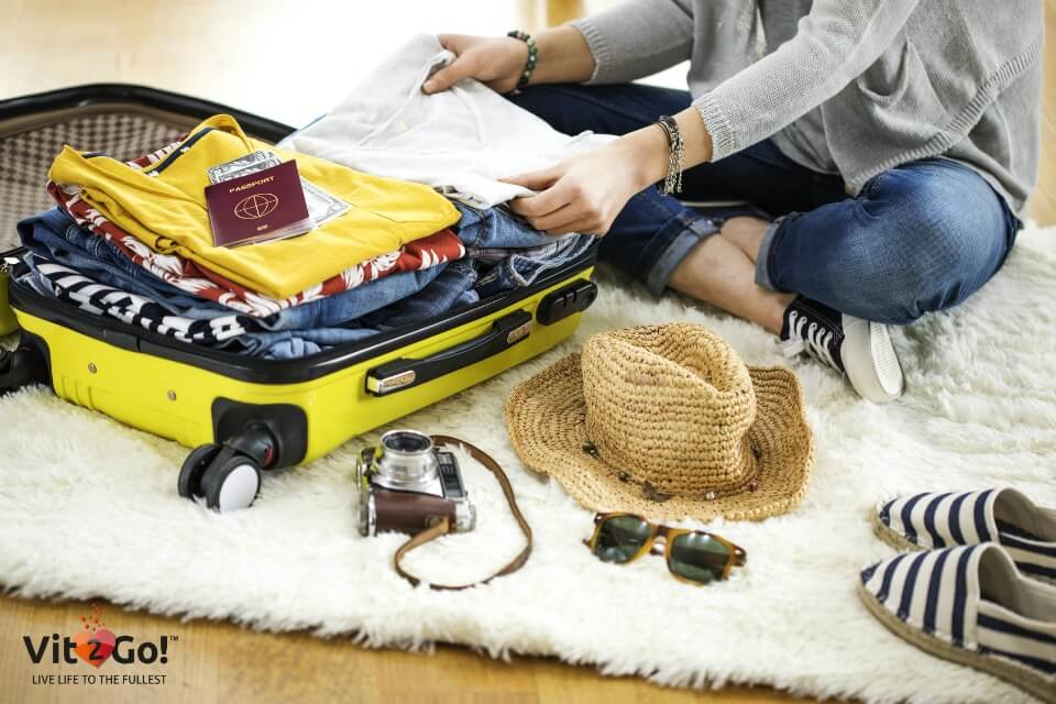 Your holiday packing list – easy and simple