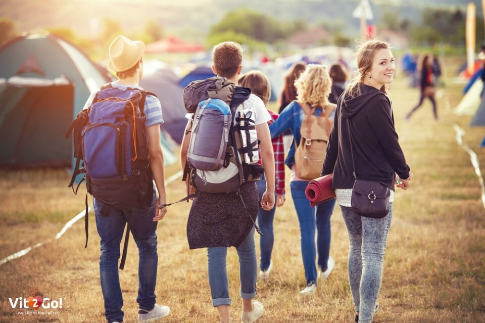 Helpful tips for first time festival campers