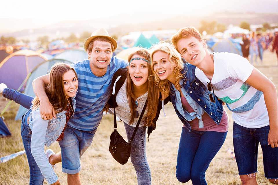 Vit2Go! products are perfect for music festivals: they are easy for on the go and simple to use.