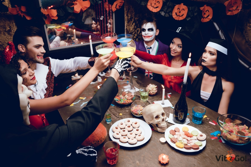 Scary but delicious Halloween cocktails you can make at home
