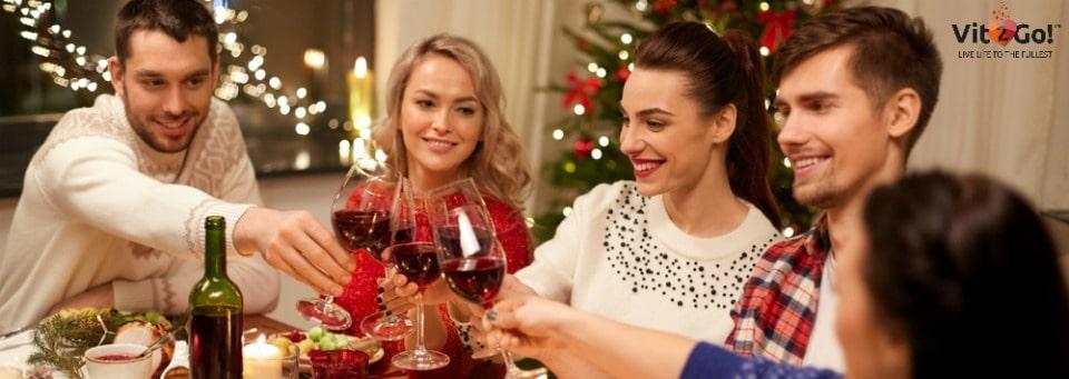 Ohne Kater durch die Weihnachtsfeiertage