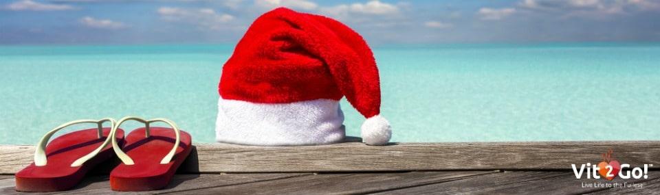 Weihnachten unter Palmen – Dem Stress entfliehen
