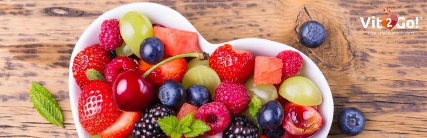 Schale voller Obst