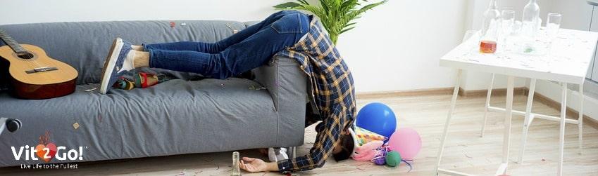 Das ideale Hangover Kit – Das solltest Du gegen einen Kater parat haben