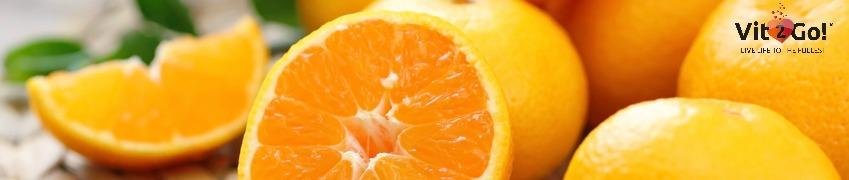 Angeschnittene Orangen