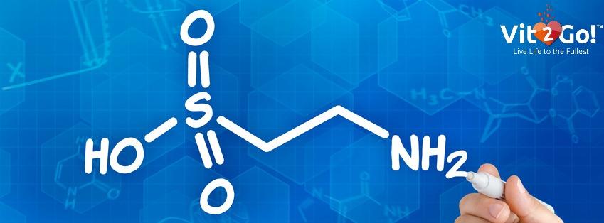 Chemische Formel von Taurin